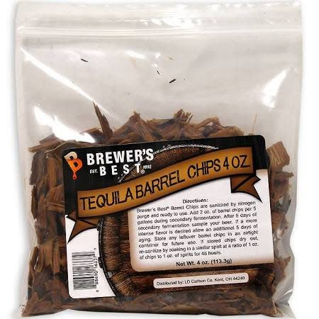 BB Tequila Barrel Chips 4 oz
