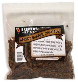 BB Whisky Barrel Chips 4 oz