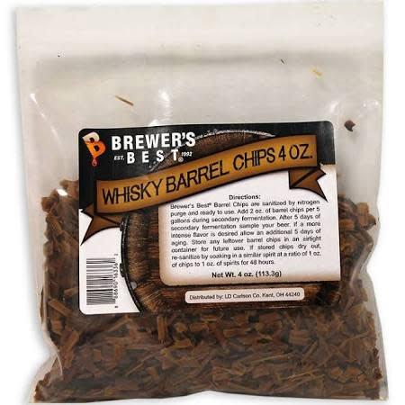 BB Whisky Barrel Chips 4 oz