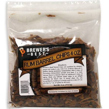 BB Rum Barrel Chips 4oz