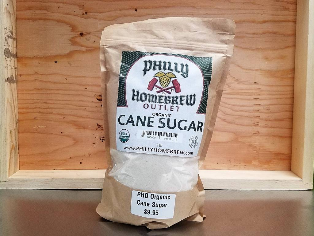 PHO Organic Cane Sugar 3lb