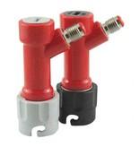 Foxx Equipment Disconnect, Short Pin Lock 1/4 MFL (liquid)