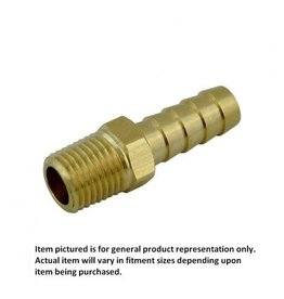 Foxx Equipment Male Hose Stem 3/8B x 1/4MPT Brass