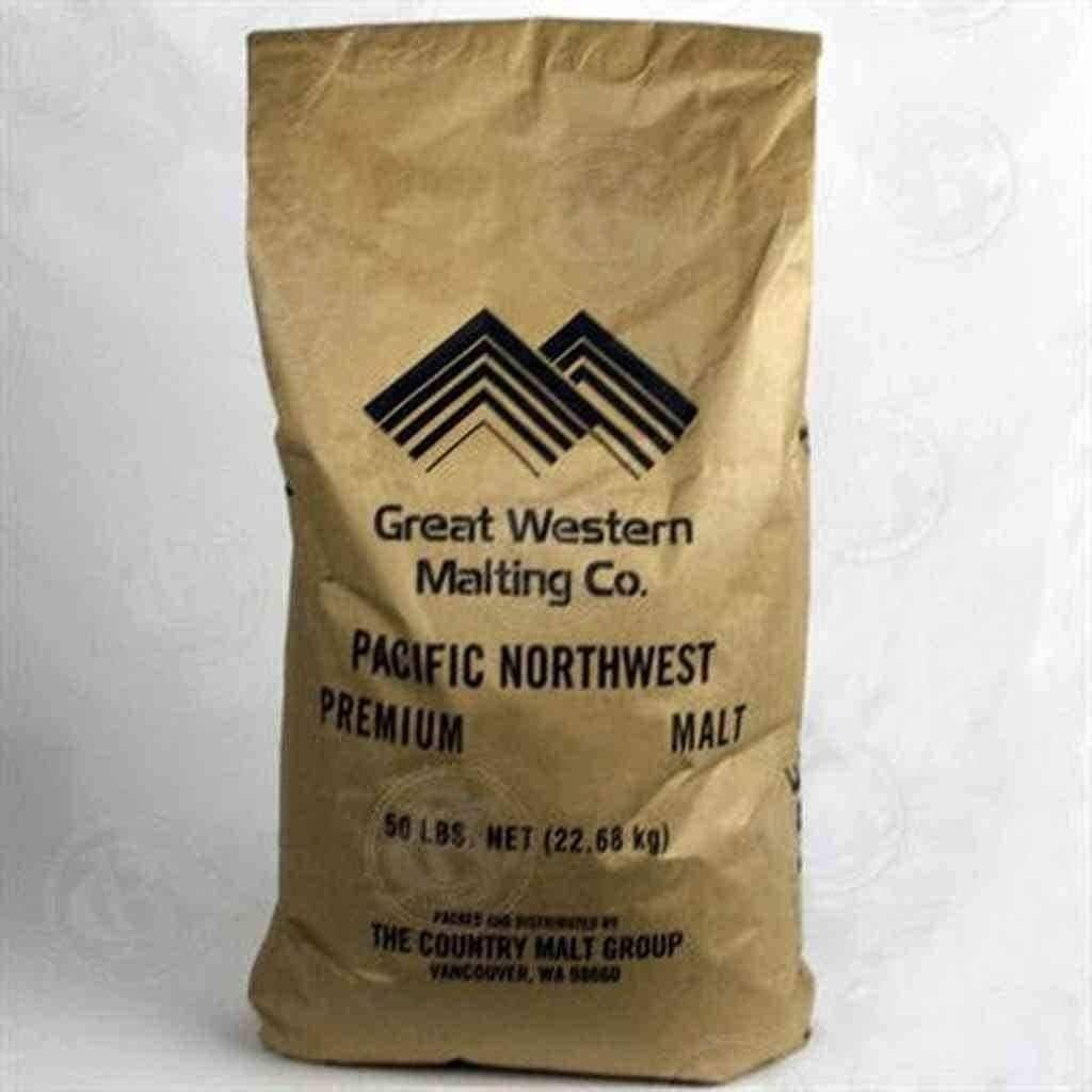 Great Western Certified Organic 2Row Malt - 50 LB