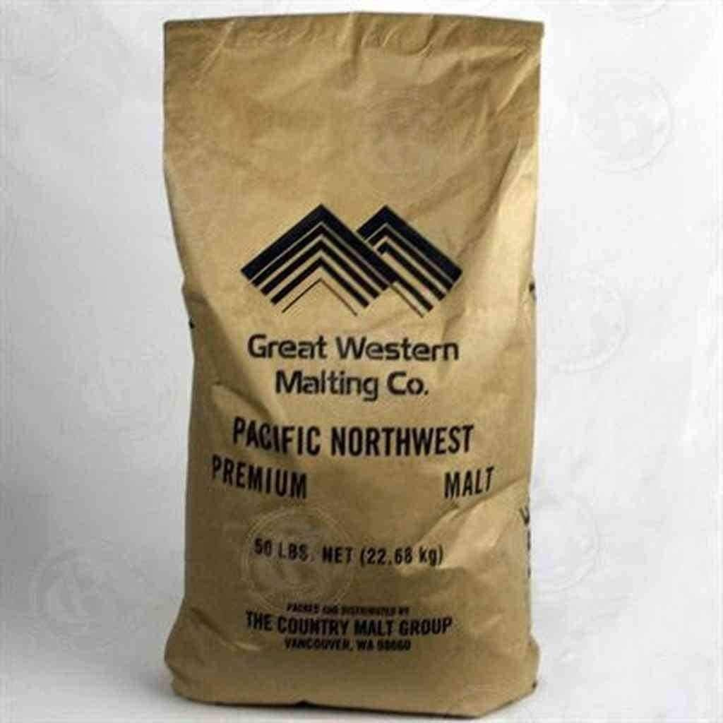 Great Western Malting White Wheat Malt - 50 LB