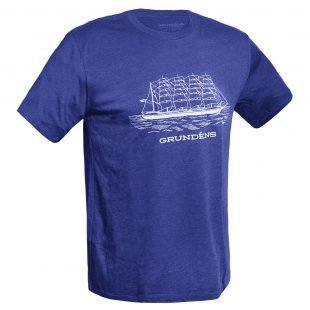 Grundens Ship Logo T-Shirt