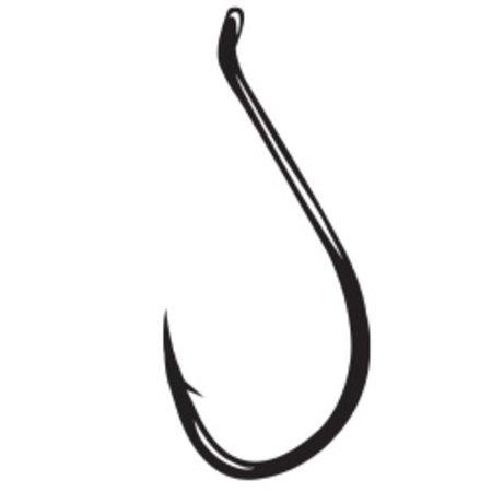 Gamakatsu Octopus Circle Hook, Needle Point, Offset, Ringed Eye, NS Black