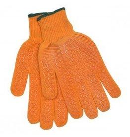 Calcutta CG1002 Men's Orange String Knit Gloves