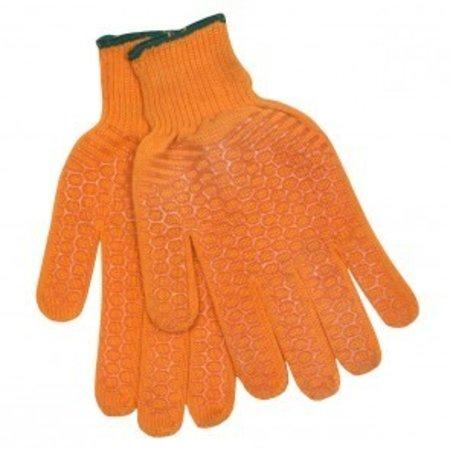 Calcutta Men's Orange String Knit Gloves