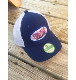Tackle Center Hat Royal Blue/White Mesh Youth