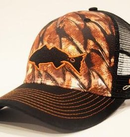 Outdoor Addictions Hat Red Fish