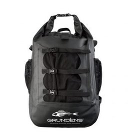 Grundens Gage-30 L Waterproof Back Pack Black