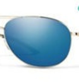 Smith Optics Serpico 2 Gold Polarized Blue Mirror