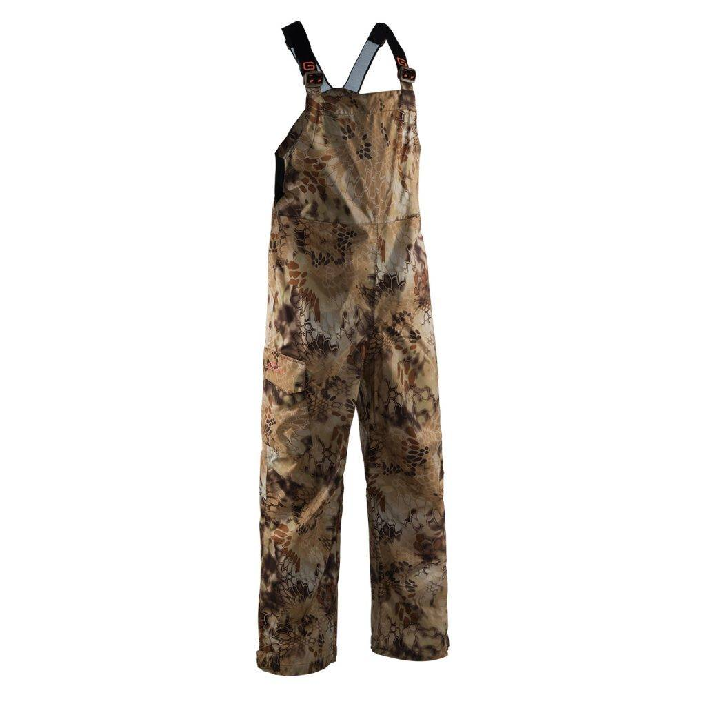 Grundens Gage Weather Watch Bib Camo