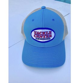 Tackle Center Hat Light Blue/Khaki Mesh with Snap