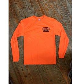 Tackle Center Orange Performance Shirt with Logo
