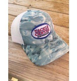 Tackle Center Hat blue wave/white