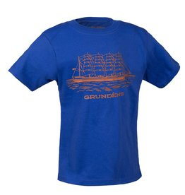 Grundens Youth Ship T-Shirt Royal Blue