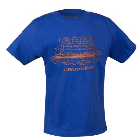Grundens Youth Ship T-Shirt Royal Blue