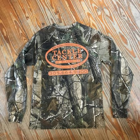 Tackle Center Camo Cotton Long Sleeve T-Shirt