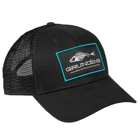 Grundens Women's Gage Trucker Hat Blue