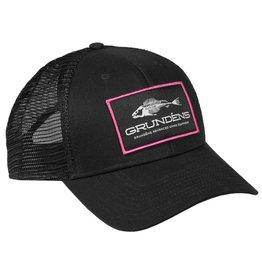 Grundens Women's Gage Trucker Hat Pink