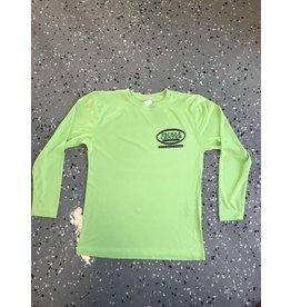 Tackle Center Children's Lycra Shirt Lime Green