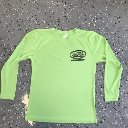 Tackle Center Children's SPF Performance Shirt Lime Green