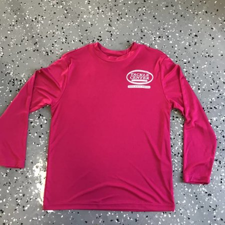 Tackle Center Children's SPF Performance Shirt Pink