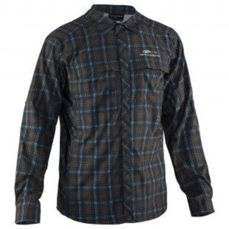 Grundens Fly Bridge Long Sleeved Dark Slate