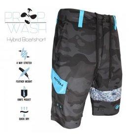 Fathom Offshore Prop Wash Hybrid Shorts Distressed Camo