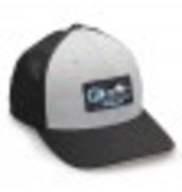 Fathom Offshore Echo Fitted Hat Heather Grey/Black