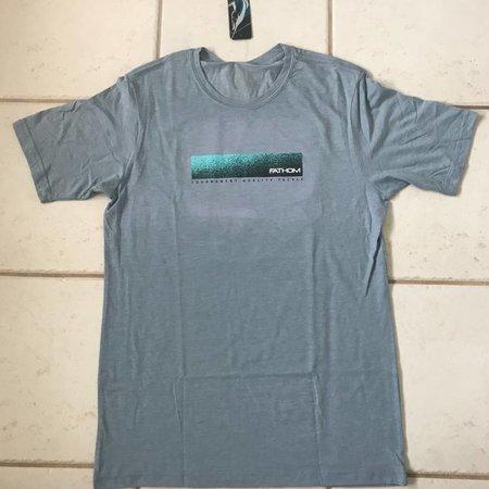 Fathom Offshore Island Crossing Short Sleeve T-Shirt Denim