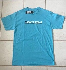 Fathom Offshore Crew Member Short Sleeve T-Shirt Pacific Blue