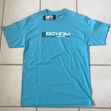 Fathom Offshore Crew Member Short Sleeve T-Shirt Pacific Blue