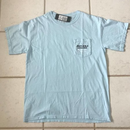 Fathom Offshore Florida State Short Sleeve T-Shirt Chambray