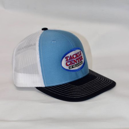 Tackle Center Hat Light Blue/White Mesh/Black Bill