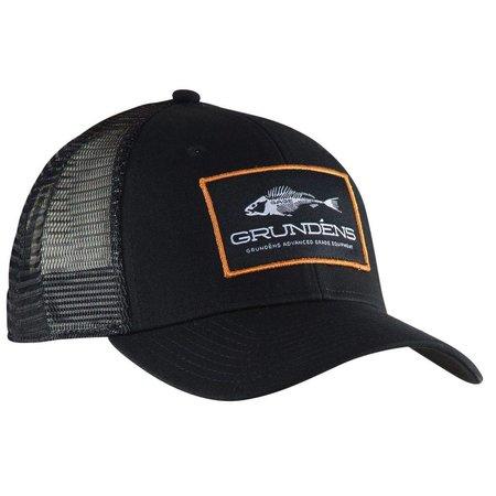 Grundens Trucker Hat Black/Orange