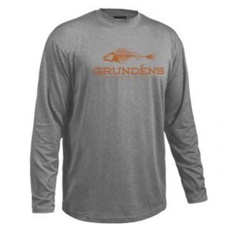 Grundens Deck Hand Performance Shirt Gray