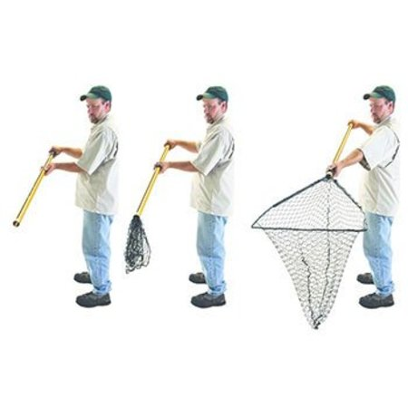 """Frabill 3600 Hiber-Net 23x22"""" 52"""" Handle Collapsible"""