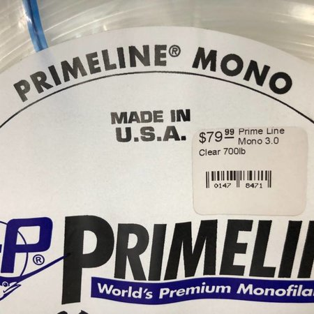 Lindgren Pitman Prime Line Mono 3.0 Clear 700lb