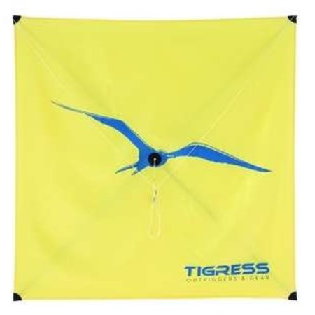 Tigress All Purpose Kite Yellow