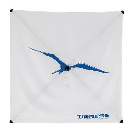 Tigress Specialty Lite Wind Kite White