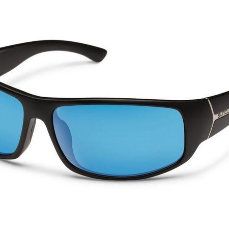 Suncloud Turbine Black/Plr Blue Mirror