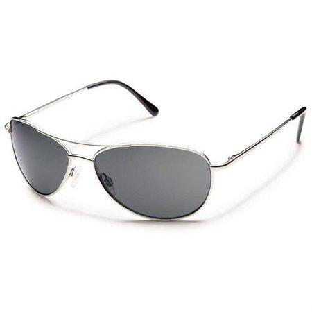 Suncloud Patrol Silver/Plr Gray