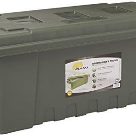 Plano 1719-01 68qt Hvy Duty Gear Tote Stackable Camo For Truck,ATV