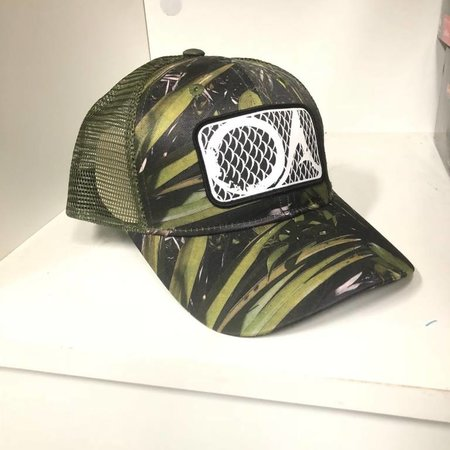 Outdoor Addictions Camo Angler Trucker Hat