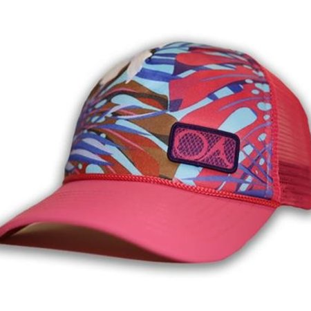 Outdoor Addictions Floral Print Hat Pink