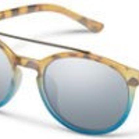 Suncloud Belmont Matte Tort Blue Fade/Sil mirror