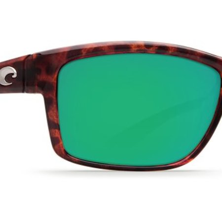 Costa del Mar Mag Bay Tortoise Frame Green Mirror 580G